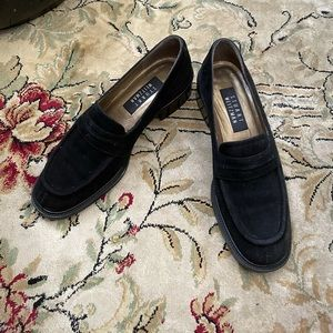 Vintage Black Stuart Weitzman Chunky Loafers